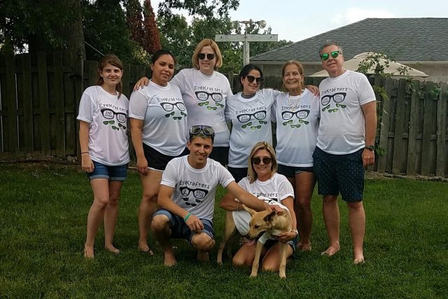 Dr. Koppel & the EyeKrafters Optometry Staff at the BBQ - South Plainfield & Edison, NJ